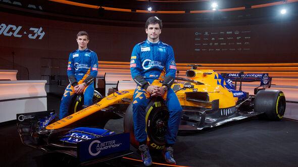 Lando Norris & Carlos Sainz - McLaren - Formel 1 - 2019