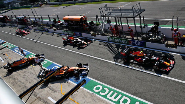 Lando Norris - Carlos Sainz - McLaren - GP Italien 2020 - Monza