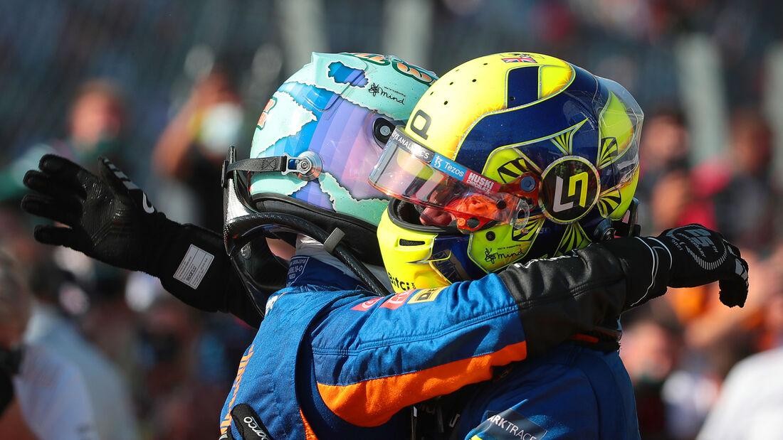 Lando Norris & Daniel Ricciardo -  GP Italien - Monza - 2021