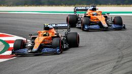 Lando Norris & Daniel Ricciardo - McLaren - GP Portugal 2021