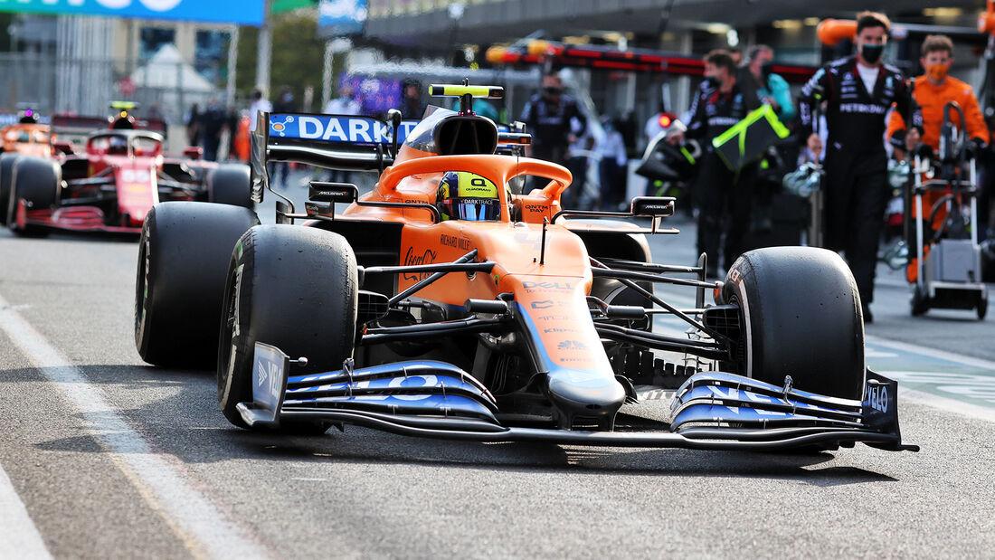 Lando Norris - Formel 1 - GP Aserbaidschan 2021