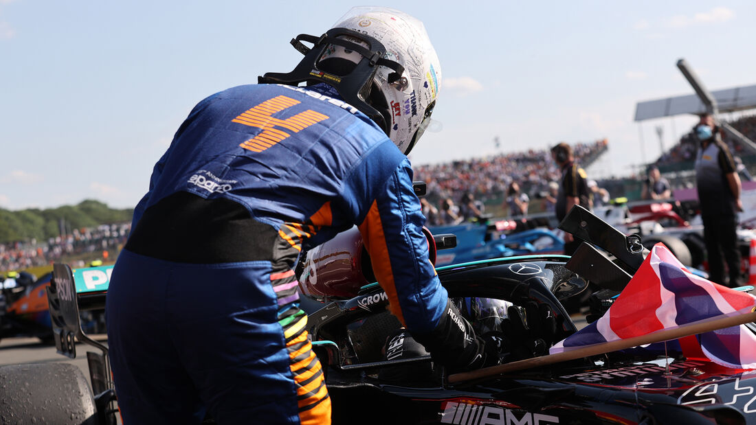 Lando Norris - Formel 1 - GP England 2021