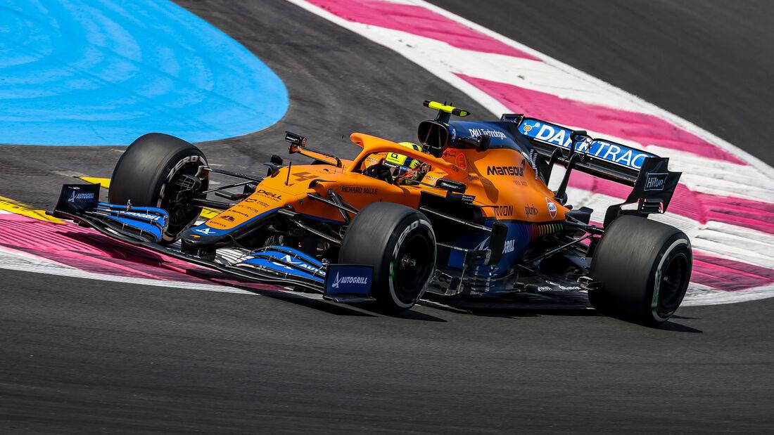 Lando Norris - Formel 1 - GP Frankreich 2021