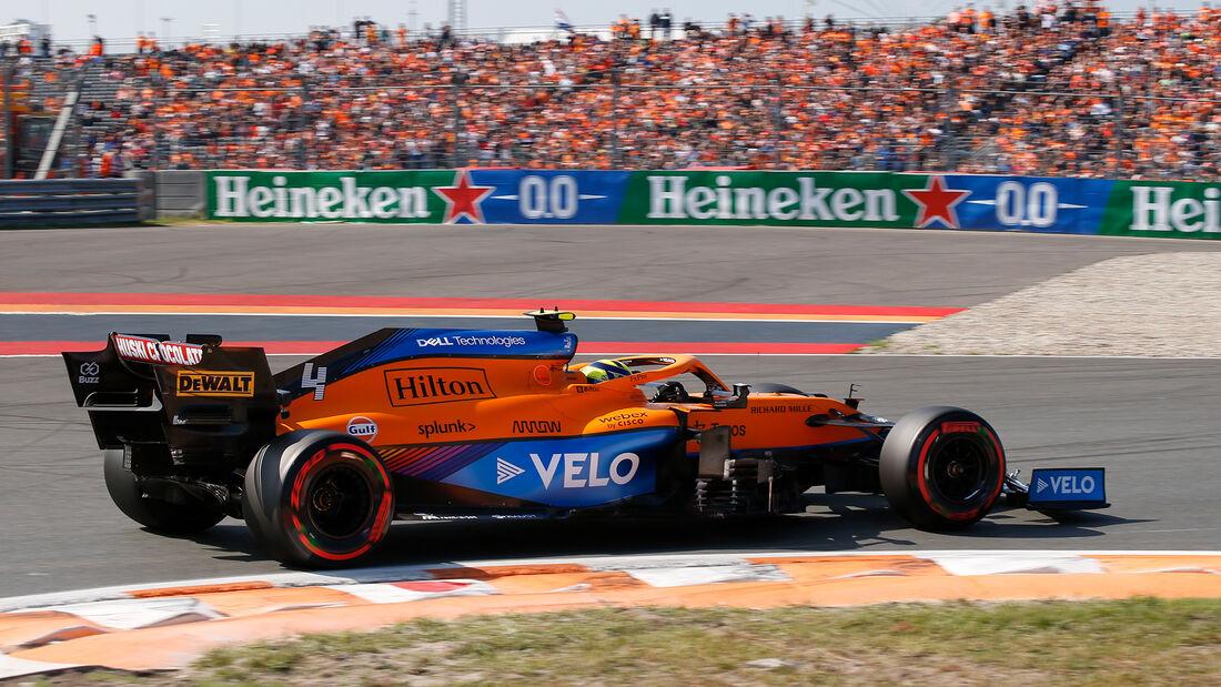 Lando Norris - Formel 1 - GP Niederlande - Zandvoort - 2021