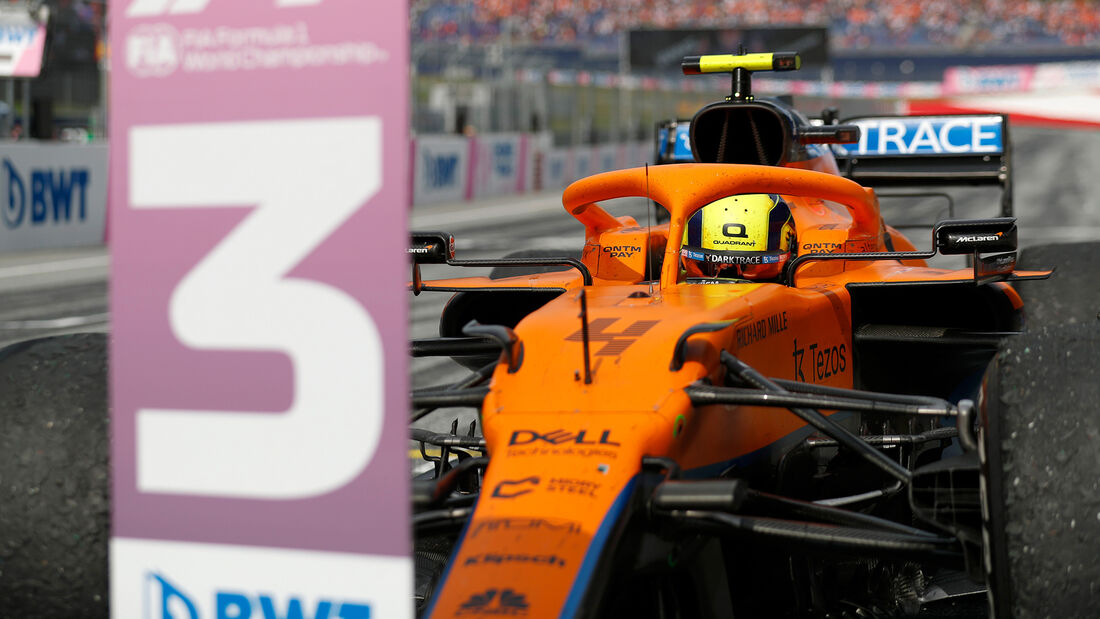 Lando Norris - Formel 1 - GP Österreich 2021