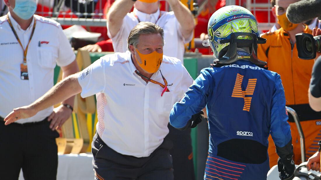 Lando Norris - Formel 1 - GP Österreich - Spielberg - 5. Juli 2020
