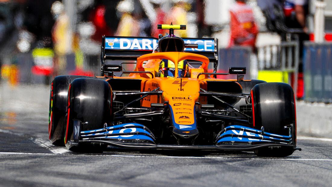 Lando Norris - Formel 1 - GP Spanien 2021
