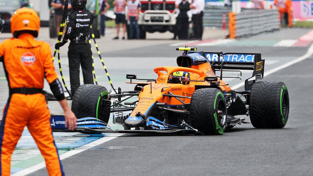 Lando Norris - Formel 1 - GP Ungarn - 2021