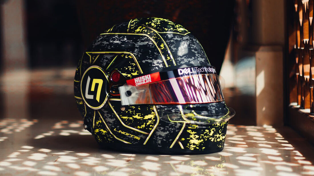 Lando Norris - Formel 1 - Helm - 2021