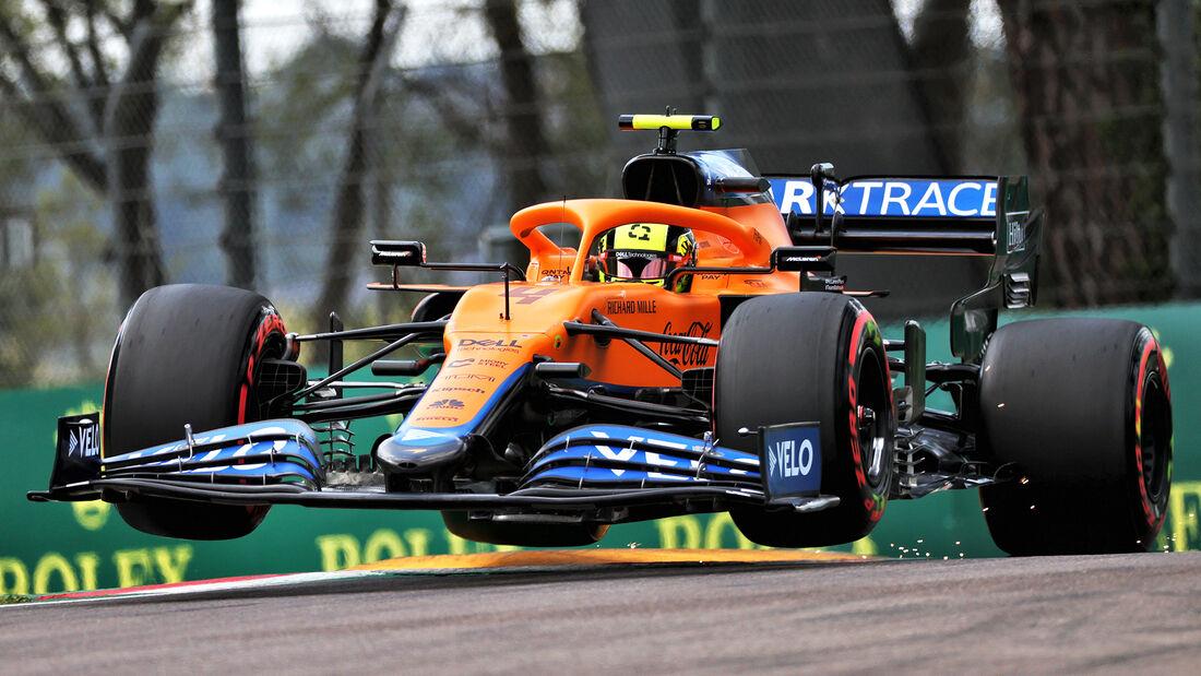 Lando Norris - Formel 1  - Imola - GP Emilia Romagna 2021