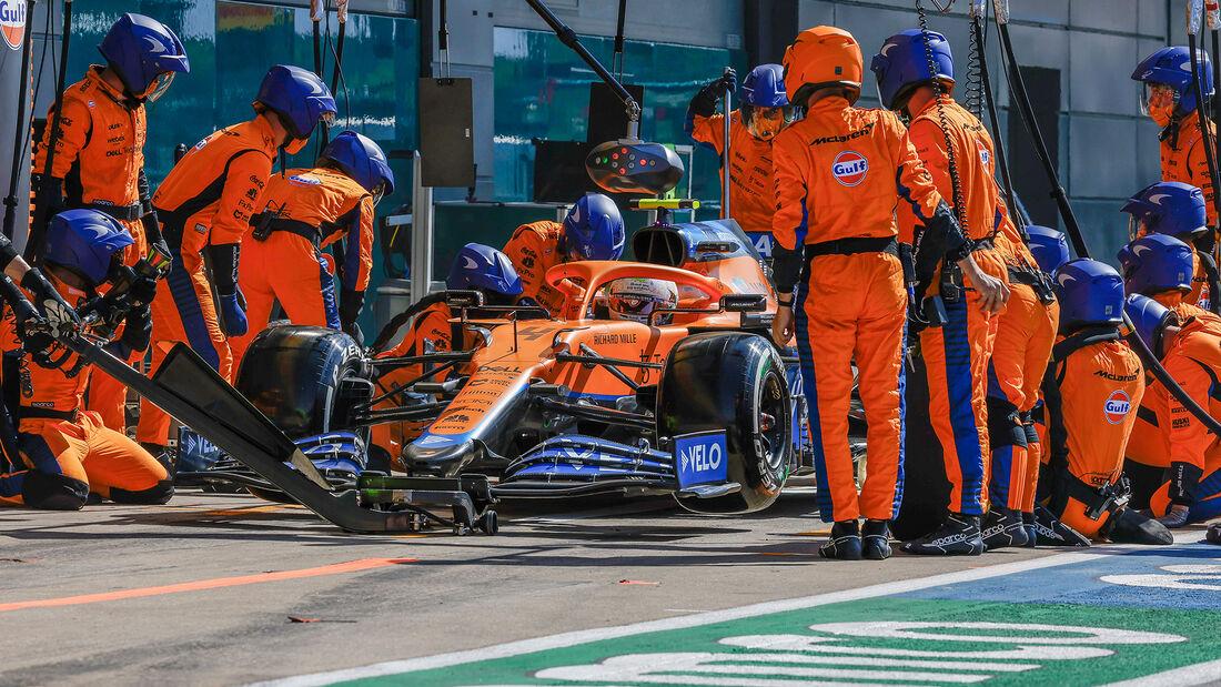 Lando Norris - Formel 1 - Silverstone - GP England 2021