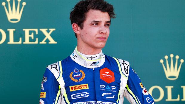 Lando Norris - Formel 2 - 2018