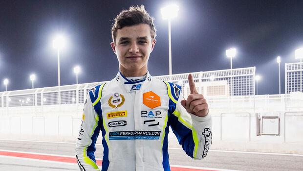 Lando Norris - Formel 2 - Bahrain 2018