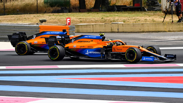 Lando Norris - GP Frankreich 2021