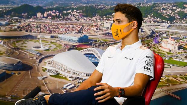 Lando Norris - GP Russland 2020