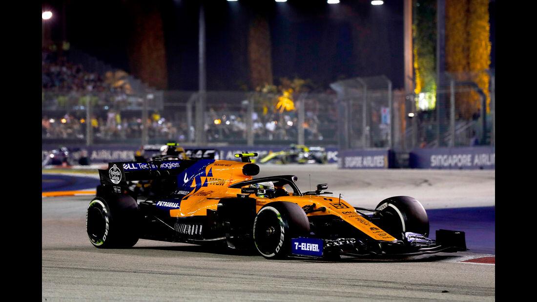 Lando Norris - GP Singapur 2019