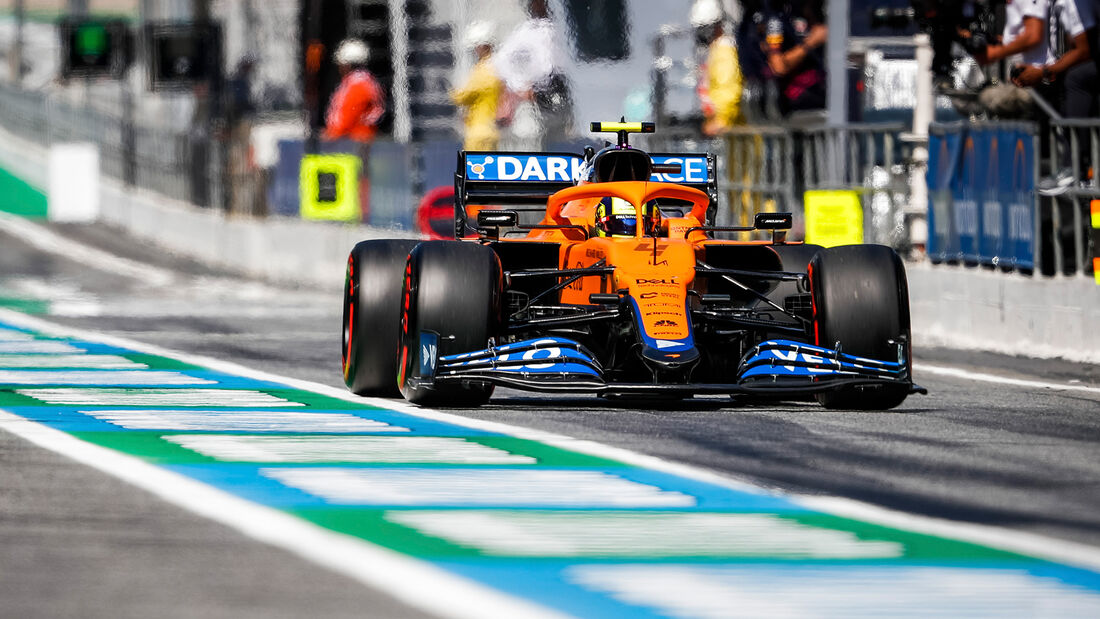 Lando Norris - GP Spanien 2021