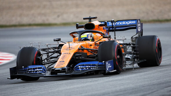 Lando Norris - McLaren - Barcelona - F1-Test - 19. Februar 2019