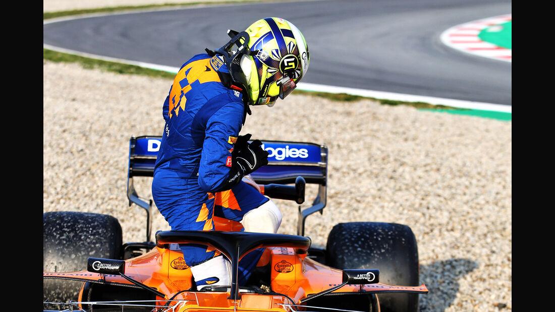 Lando Norris - McLaren - Barcelona - F1-Test - 21. Februar 2019