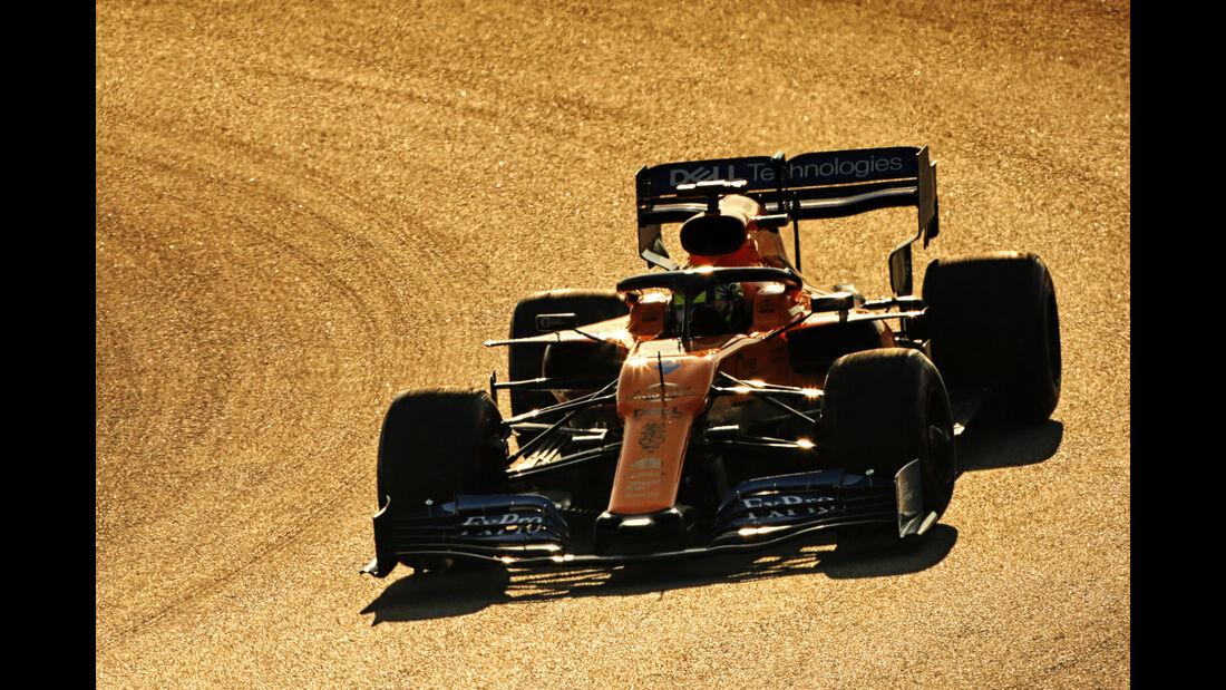 Lando Norris - McLaren - Barcelona - F1-Test - 27. Februar 2019