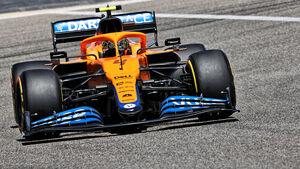 Lando Norris - McLaren - F1 - Formel 1 - Testfahrten - Bahrain 2021