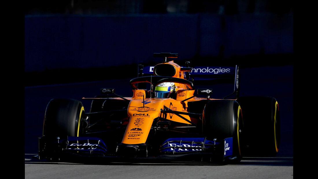 Lando Norris - McLaren - F1-Test - 26. Februar 2019