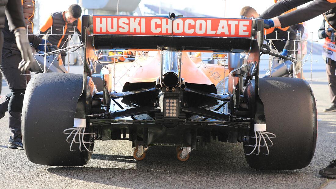 Lando Norris - McLaren - F1-Test - Barcelona - 19. Februar 2020