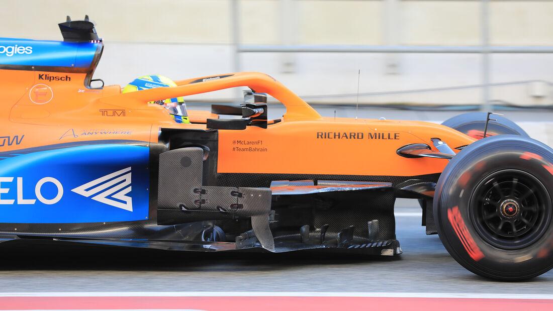 Lando Norris  - McLaren - F1-Test - Barcelona - 20. Februar 2020