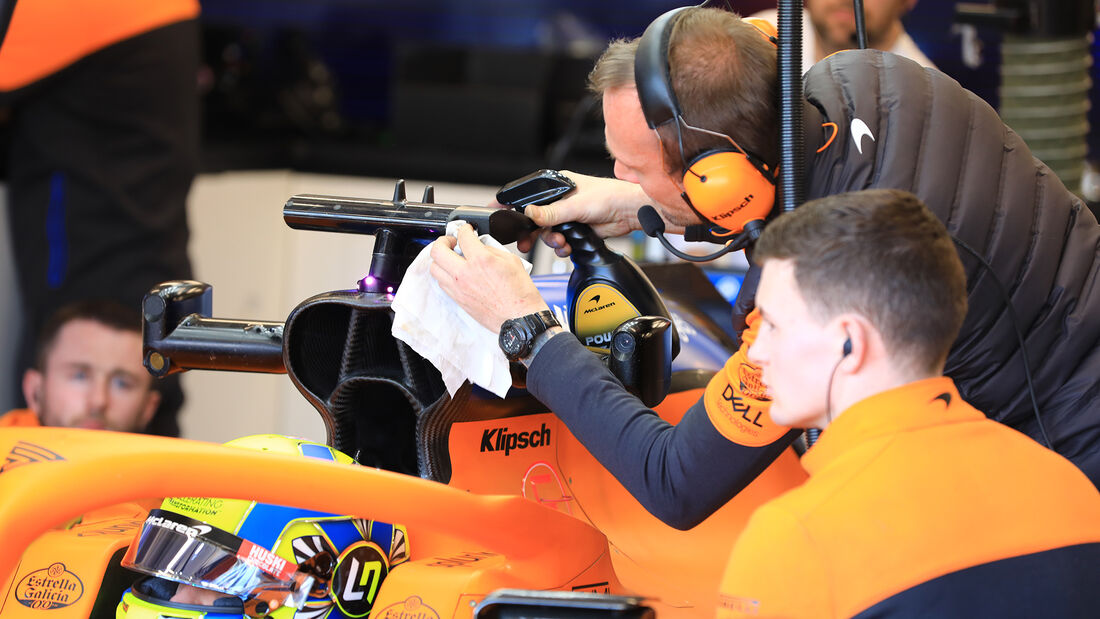 Lando Norris - McLaren - F1-Test - Barcelona - 21. Februar 2020