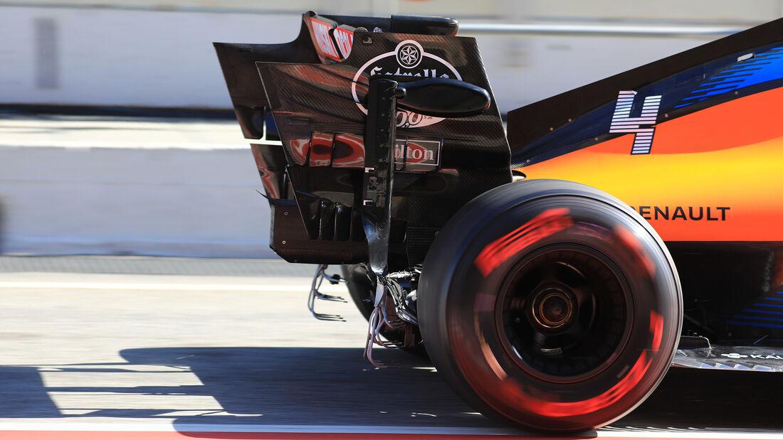Lando Norris - McLaren - F1-Test - Barcelona - 26. Februar 2020