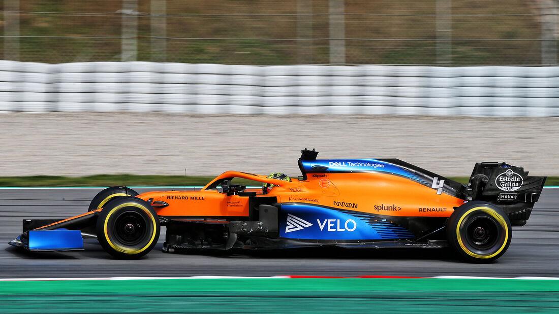 Lando Norris - McLaren - F1-Test - Barcelona - 27. Februar 2020