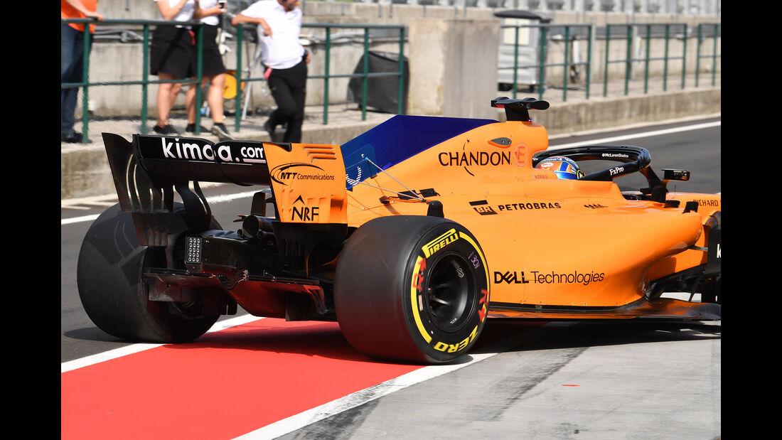 Lando Norris - McLaren - F1-Test - Budapest - 1. August 2018