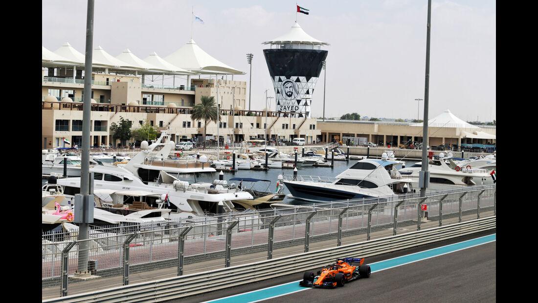 Lando Norris - McLaren - F1-Testfahrten - Abu Dhabi - 27.11.2018