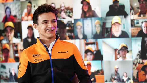 Lando Norris - McLaren - Formel 1 2021