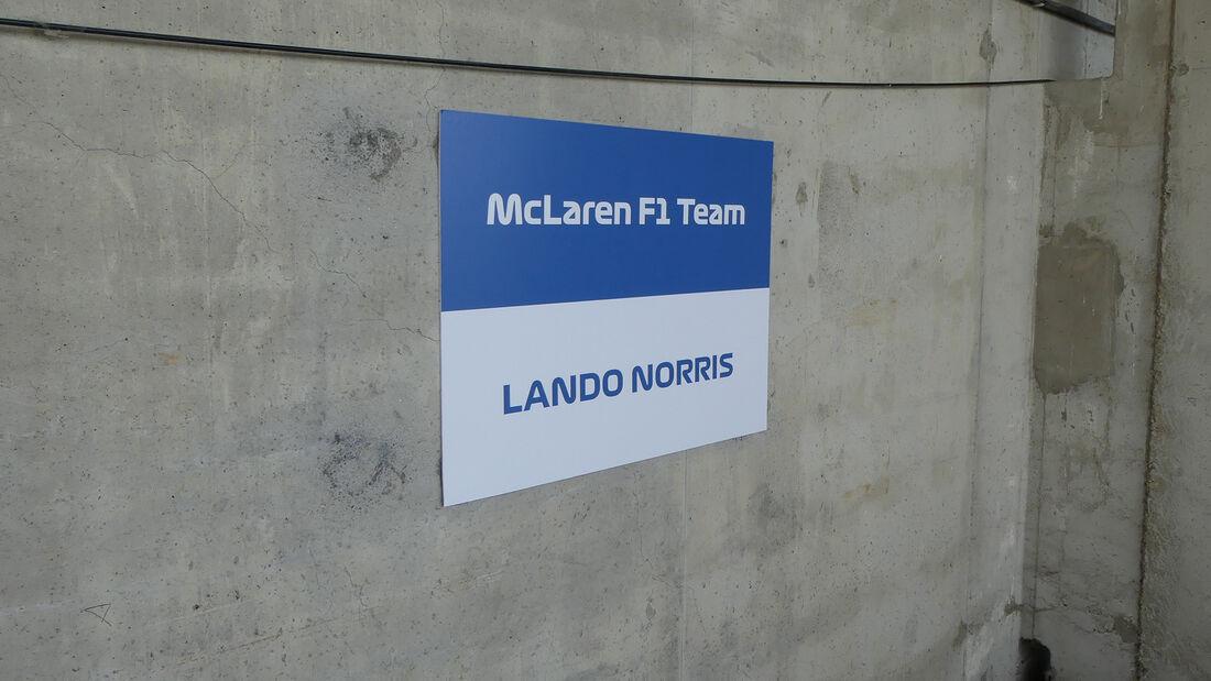 Lando Norris - McLaren - Formel 1 - Fahrerautos - GP Ungarn 2021