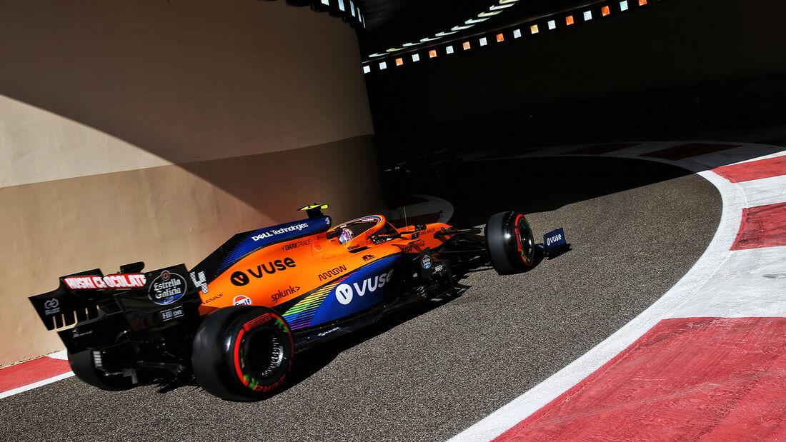 Lando Norris - McLaren - Formel 1 - GP Abu Dhabi - Freitag - 11.12.2020