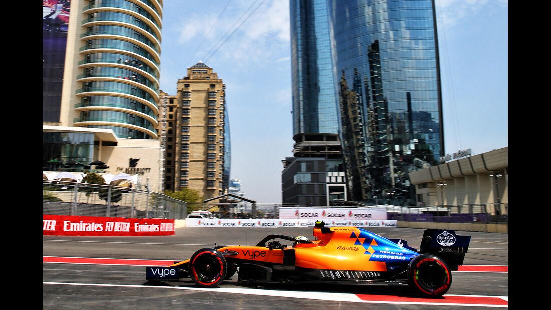 Lando Norris - McLaren - Formel 1 - GP Aserbaidschan - Baku - 26. April 2019