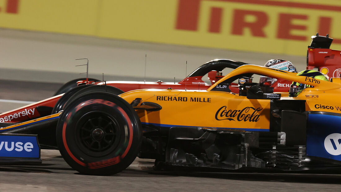 Lando Norris - McLaren - Formel 1 - GP Bahrain 2021 - Rennen