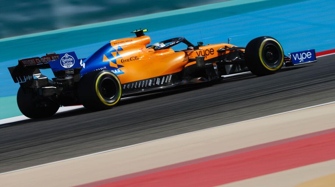 Lando Norris - McLaren - Formel 1 - GP Bahrain - 30. März 2019