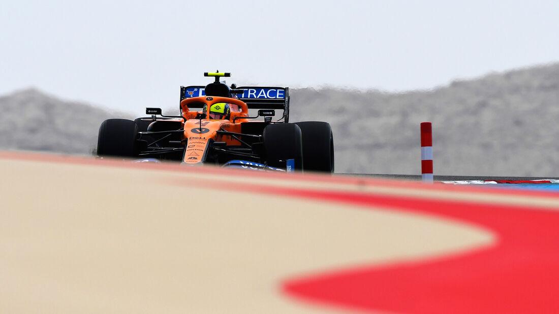 Lando Norris - McLaren - Formel 1 - GP Bahrain- Sakhir - Freitag - 27.11.2020