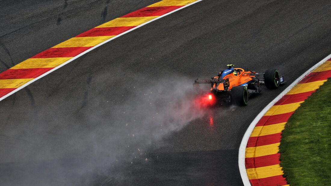Lando Norris - McLaren - Formel 1 - GP Belgien - 28. August 2021