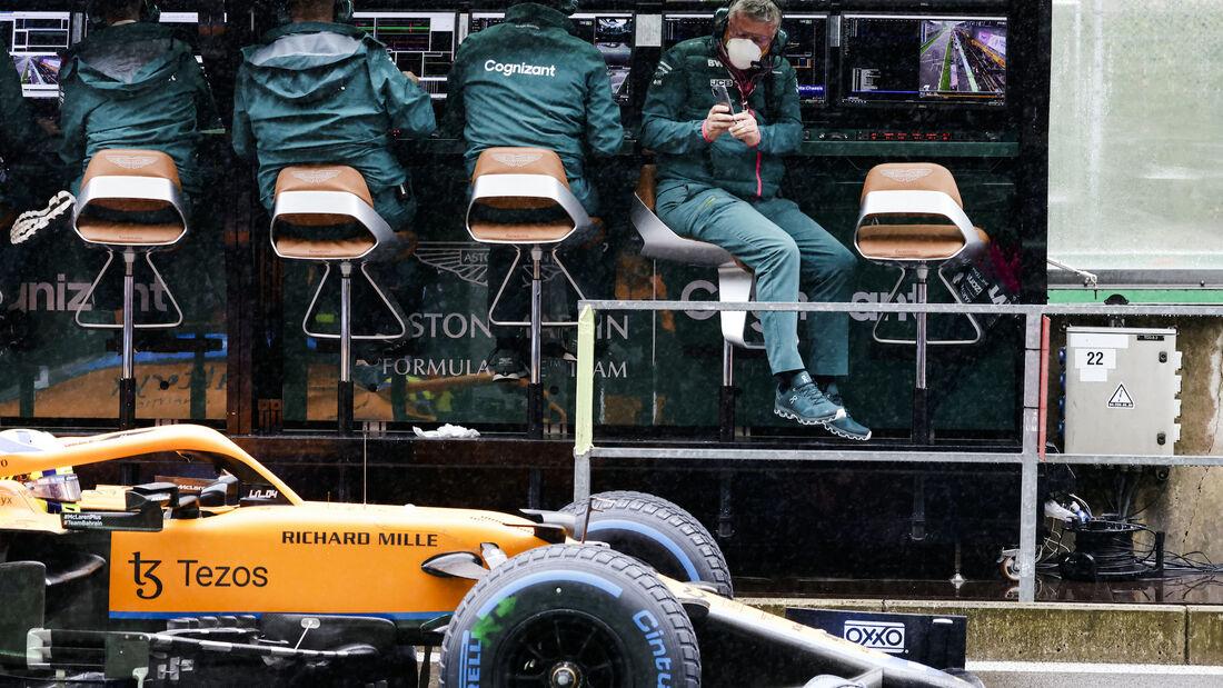 Lando Norris - McLaren - Formel 1 - GP Belgien - 29. August 2021