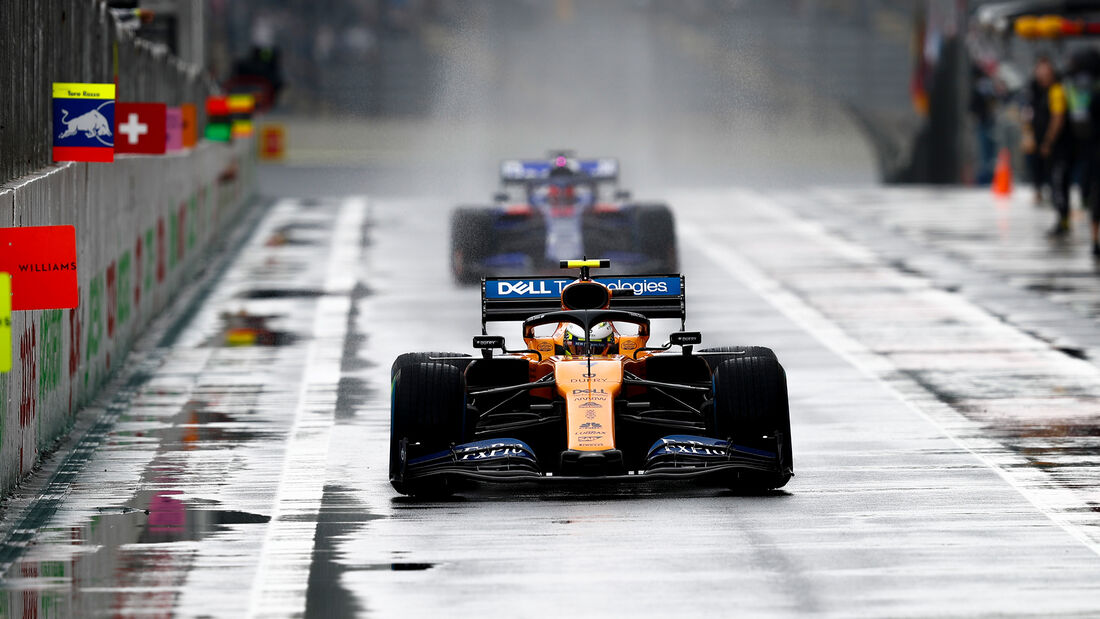 Lando Norris - McLaren - Formel 1 - GP Brasilien - Sao Paulo - 15. November 2019