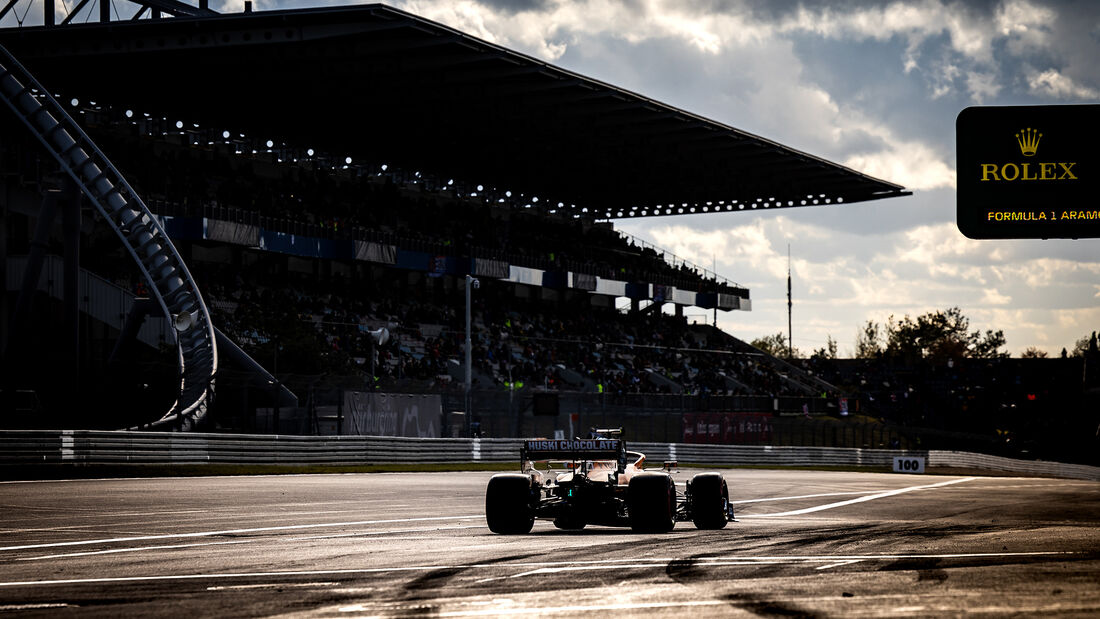 Lando Norris - McLaren - Formel 1 - GP Eifel - Nürburgring - Samstag - 10.10.2020