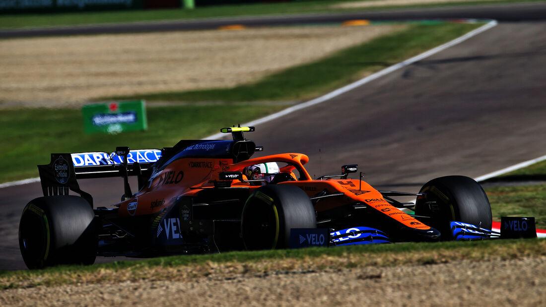 Lando Norris - McLaren - Formel 1 - GP Emilia-Romagna - Imola - Samstag - 31.10.2020