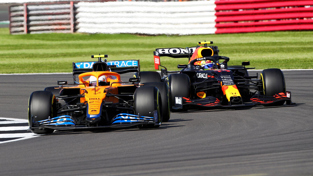 Lando Norris - McLaren - Formel 1 - GP England - Silverstone - 17. Juli 2021