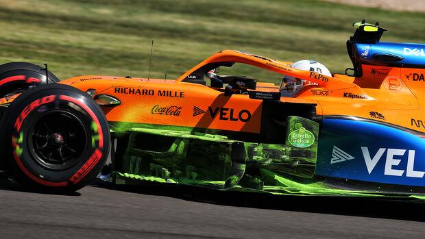 Lando Norris - McLaren - Formel 1 - GP England - Silverstone - 31. Juli 2020