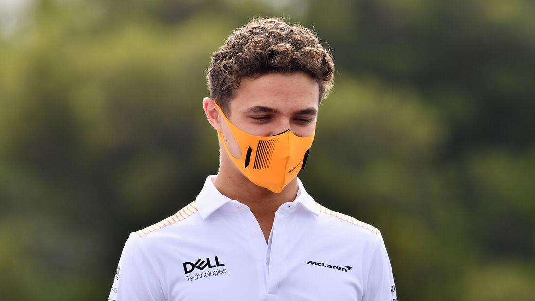 Lando Norris  - McLaren - Formel 1 - GP Frankreich - 17. Juni 2021