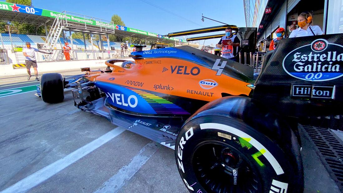 Lando Norris - McLaren - Formel 1 - GP Italien - Monza - 4. September 2020