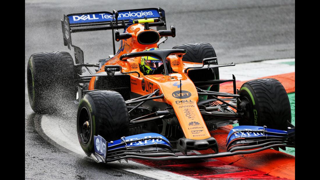 Lando Norris - McLaren - Formel 1 - GP Italien - Monza - 6. September 2019